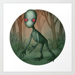Dover Demon Art Print