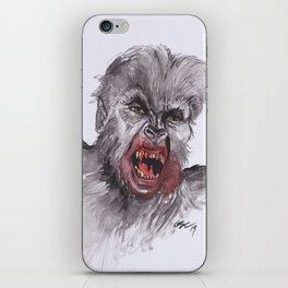 Lycanthropy iPhone Skin