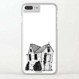 old home Clear iPhone Case