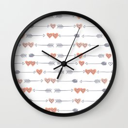 Love To Your Heart Wall Clock