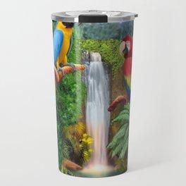 Macaw Tropical Parrots Travel Mug