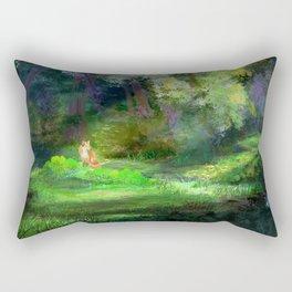 Fox in the Forest Rectangular Pillow