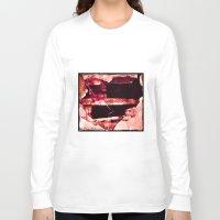 1d Long Sleeve T-shirts featuring Hole Heart 1d Bocea_Cornered by Peggy McEachreon