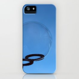 Bubble and Blue Sky iPhone Case