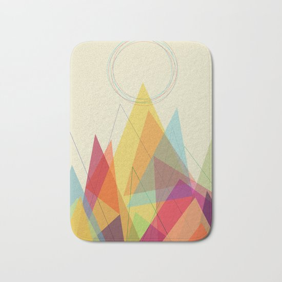 Holy Mountain Bath Mat