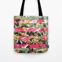 hippie Tote Bags featuring Hippie Hippie Hourrah   by Djuno Tomsni