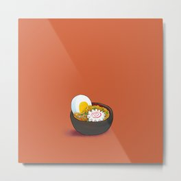 A little nice ramen meal Metal Print