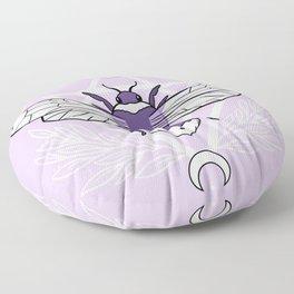 Bee Queen // Pastel Floor Pillow