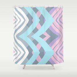 Abstract III Shower Curtain
