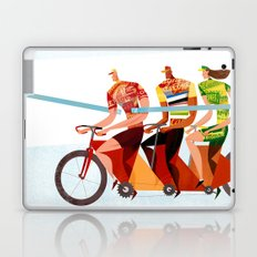 Bicycle Tour de France Tandem for Three Laptop & iPad Skin
