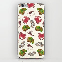 Seafood Medley iPhone Skin