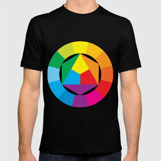 color wheel T-shirt