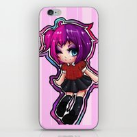 kawaii iPhone & iPod Skins featuring Kawaii!  by katie stahl