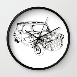 Mini Cooper Wall Clock