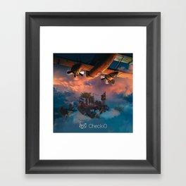 CheckiO islands Framed Art Print