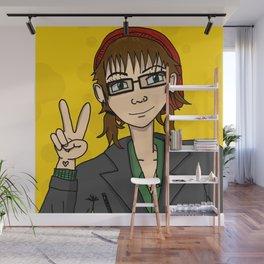 Manga Girl Me | Veronica Nagorny  Wall Mural
