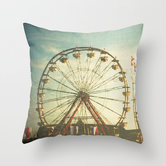 Carnival - Color Throw Pillow