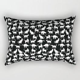 Cats silhouette Rectangular Pillow