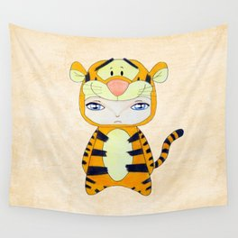 A Boy - Tigger Wall Tapestry