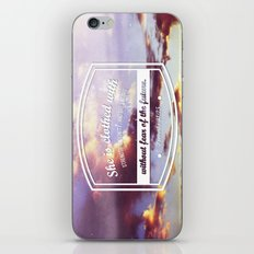 Strength & dignity  iPhone & iPod Skin