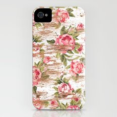 Eco Love Pattern iPhone (4, 4s) Slim Case