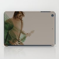 dave grohl iPad Cases featuring Dave Grohl by Daniel Cisneros