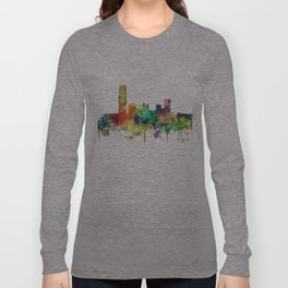 Oklahoma City, Oklahoma skyline SP Long Sleeve T-shirt