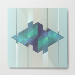 Gem Abstract Metal Print