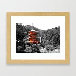 Seiganto-ji Temple: Kumano Kodo,Wakayama, Japan Framed Art Print