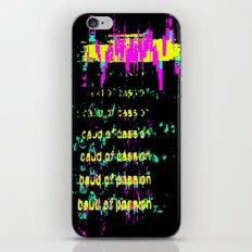 baud iPhone & iPod Skin