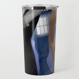 Doctor Who with Judi and Pearl Travel Mug