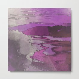 Ultraviolet Dreams Metal Print