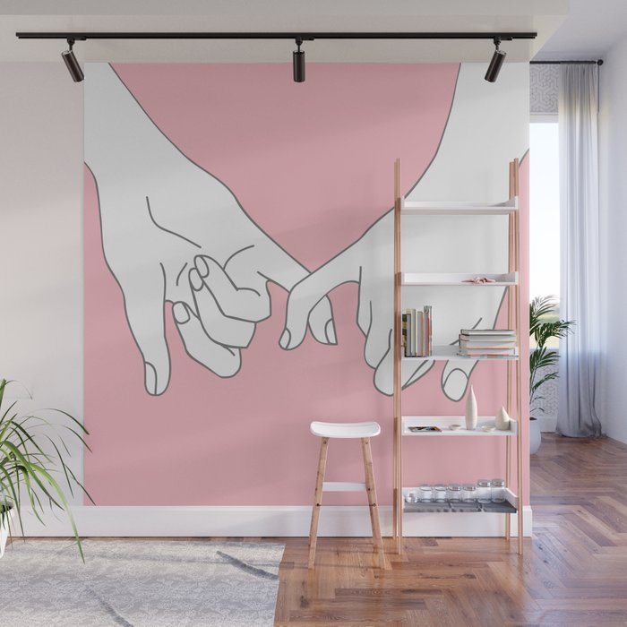 Pinky Promise 2 Wall Mural