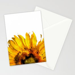 Simply a sunflower  Stationery Cards