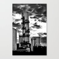 dark tower Canvas Prints featuring Dark Tower (small) by Matthew Clemens