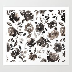 Winter blossom Art Print