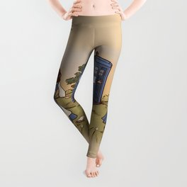 Adventure in the Great Wide Somewhere Leggings