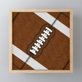 Fantasy Football Super Fan Touchdown Framed Mini Art Print