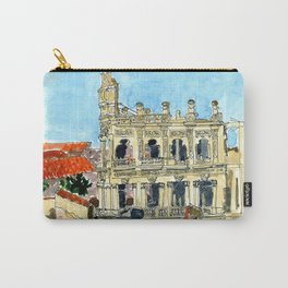 Hotel Shell in Habana Vieja, Cuba Carry-All Pouch