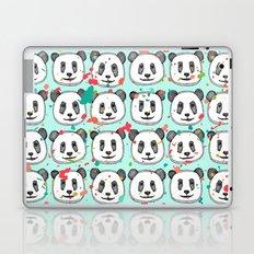 splatter pop panda cookies mint Laptop & iPad Skin