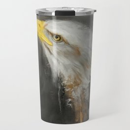 The Mighty Bald Eagle Travel Mug
