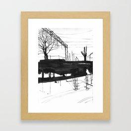 Railway I Framed Art Print