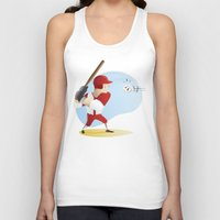 baseball Tank Tops featuring Baseball! by Dues Creatius