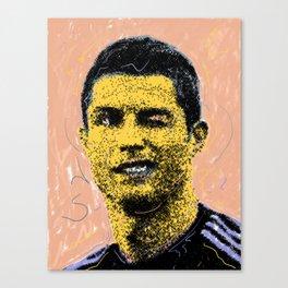 Cristiano Portrait Canvas Print