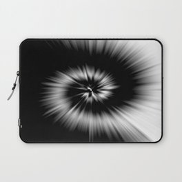 TIE DYE #1 (Black & White) Laptop Sleeve