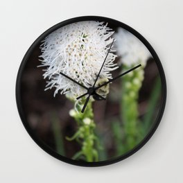 Bee Collecting Pollen 1 Wall Clock