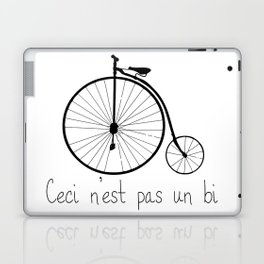 Dyke in bike Laptop & iPad Skin