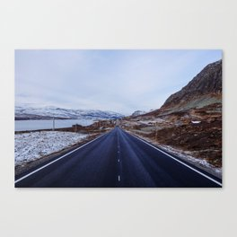 Filefjell mountain pass in Norway Canvas Print