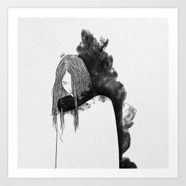 the war zone. Art Print