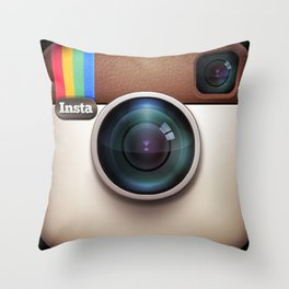 InstaPillow Throw Pillow